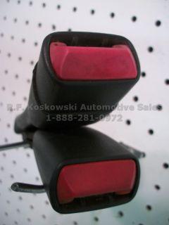 Chevy GMC Pickup Truck Seat Belt Buckle Latch Regular Cab Bench Seat Graphite