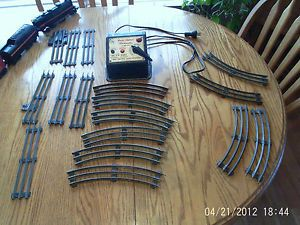 Vintage Lionel O Scale Train Set All Good Working Condition Engine 249