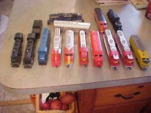 Huge Lot of HO Scale Locomotives Engines and Tender Bachmann Tyco AHM Look