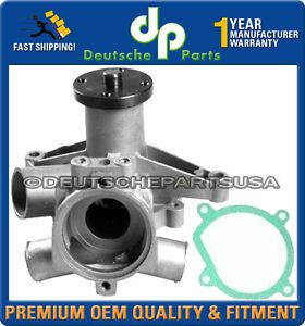 Volvo 760 780 Engine Cooling Water Pump Pumps Metal Impeller with Gasket 2 8V6