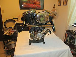 Harley Davidson Store Display Engine Evolution Shop Twin Rat Rod Man Cave