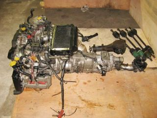 00 Subaru Impreza GC8 WRX Engine Swap JDM EJ20 Turbo DOHC 2