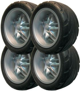 215 35R 12 Golf Cart Tire Rim Assembly 6PLY Dot Club Car EZGO Yamaha Bad Boy