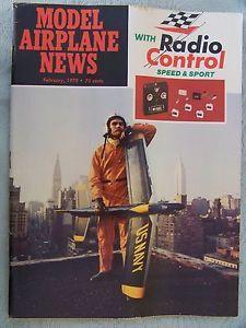 Feb 1970 Model Airplane News RC Magazine Super Tigre 15 Diesel Engine Review