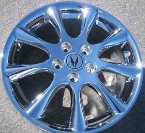 "4 New 17"" Factory Acura TSX Chrome Alloy Wheels Rims Accord 714 940 1761"