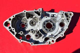 2005 05 Yamaha YZ250F YZ 250f YZF Leftcase Crankcase Half Crank Engine Motor
