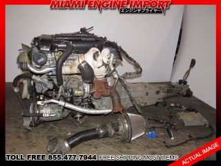 Nissan Silvia 240sx JDM SR20DET s14 Engine Manual Transmission Motor sr20 Turbo
