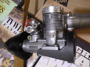 Used But Still Strong Magnum 40 Glow Fuel RC Airplane Engine MRE