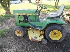 John Deere 140 H3 Lawn Garden Tractor