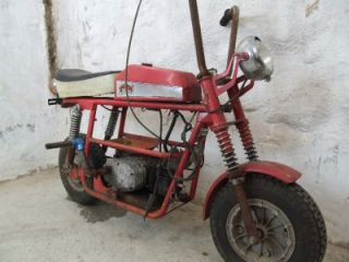 Vintage Broncco Fantic TX7 Mini Bike Minibike 1970 Bronco