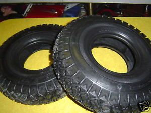 General Minibike Tires and Tubes Bonanza Set of 2 Rupp Mini Bike Tires