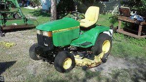 John Deere 455 Diesel Lawn Mower 01