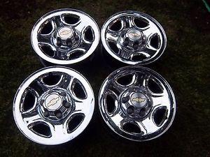 16 Tahoe Silverado 1500 Yukon Factory Chrome Wheels Rim Suburban GMC Sierra