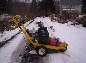 Walk Behind Stump Grinder in Very Good Condition 20HP Kohler Engine