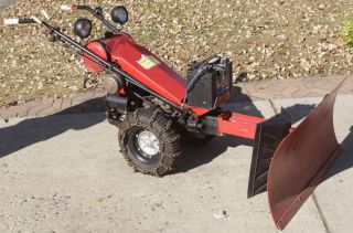 Custom Rebuilt Gravely L Tractor with Snow Plow Electric Start Custom Controls
