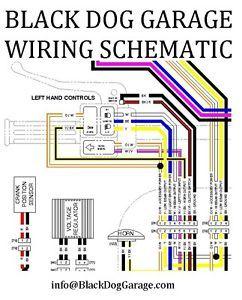 2004 2012 Harley Sportster Low Custom Roadster Wiring Diagram Schematic Manual