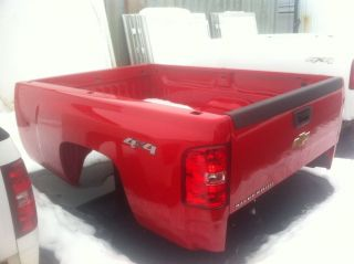 Chevy Silverado Red Pickup Truck Long Bed New Take Off 4x4 with Lights Tailgate
