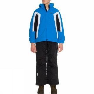 Ice Peak Morris Jr Blue Green Ski Suit Kids Skiing Snow