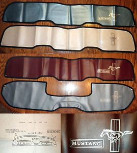 1964 66 Ford Mustang Blue Dash Pad Cover Restoration Modification Pony Express