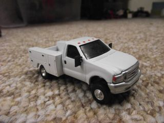 1 64 Custom Scratch Ford F350 Dually Service Bed Truck Ertl Chevy Dodge GMC Farm