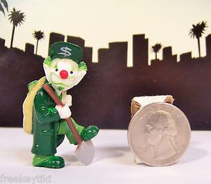 "Homies Clown Series 2 Money Bags Mizer Clown $ RARE Figure Figurine 2"" Homie"