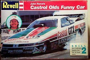Revell John Force Castrol Oldsmobile Cutlass Funny Car