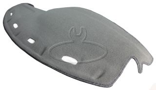 New Molded Carpet Dash Pad Cover Charcoal Gray Fits 98 01 Dodge RAM Truck