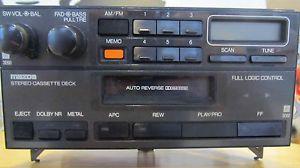 Mazda Stereo Cassette Am FM Car Stereo Radio Model AE 3131TY4 SP 4900