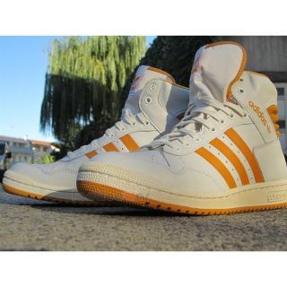 Adidas Shoes Pro Conference Hi G95974 Vintage Basket Men's White Yellow Casual