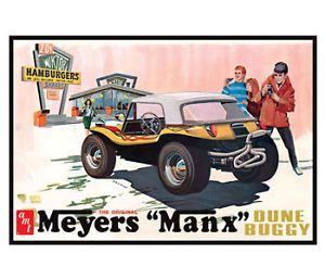 AMT Meyers Manx Dune Buggy Plastic Model Car Kit