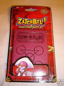 Zatch Bell Zofis Spell Book Card Holder 2005 Retired Promo Card