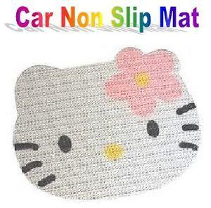 Hello Kitty Car Dash Key Mobile Phone Non Slip Anti Slip Mat Pad Grip Lot of 2