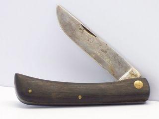 Vintage Carl Schlieper Eye Brand SOD Buster Knife German DRGM Patent Excellent