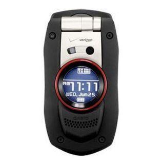 Casio G Zone Boulder C711 Verizon Wireless Bluetooth Water Resistant Cell Phone