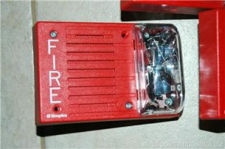 Simplex 4903 9148 Fire Alarm System Horn Strobe