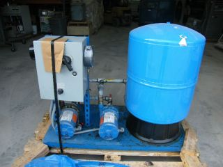 Goulds Well Water Bladder Tank and Dual Pump Setup w Controls in NJ