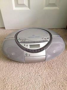 Sony Portable Stereo CD Radio Cassette Player