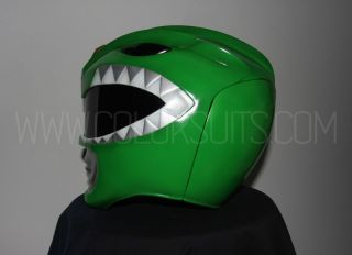 Mighty Morphin Power Rangers Green Power Ranger Helmet Costume
