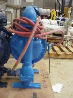 "2"" Sandpiper Warren Rupp Aluminum Air Diaphragm Pump"