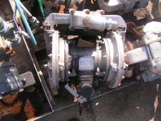 "Warren Rupp 1 1 4"" Stainless Steel Air Diaphragm Pump"