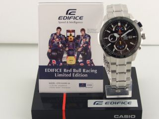 Casio Edifice Chrono Red Bull Racing Limited Edition Men's Watch