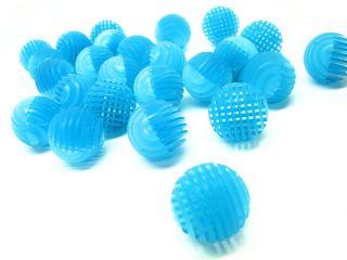 Ista 50pcs Bio Ball s 31 5mm Blue Color Aquarium Filter Media Pond Balls