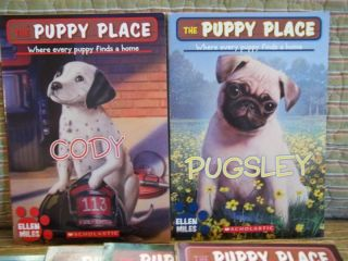 6 PB Box Set Puppy Place by Ellen Miles Children Young Adults Free 0590689533