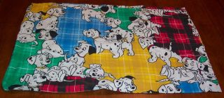 Retro Walt Disney 101 Dalmatians Puppy Pillow Case 100 Cotton Pillowcase
