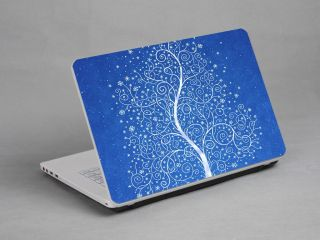 Laptop Notebook Skin Sticker Cover Decal Tree Blue Dell Asus IBM HP 15 4 Inch