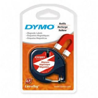 4pk Dymo LetraTag 19435 Magnetic Labels Letra Tag QX50