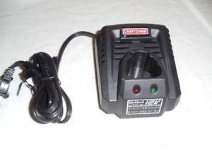 2 Craftsman Nextec 12 Volt Battery Chargers Lithium ion 10006
