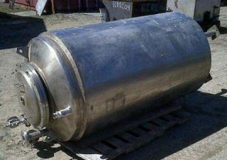 300 Gallon Stainless Steel Vacuum Pressure Vessel Tank Insulated Knock Out Pot
