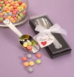 Chrome Candy Scoop Bar Accessories Wedding Favors