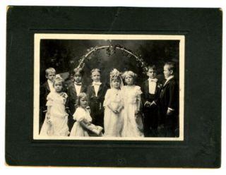 Children's Wedding Photo CADDO Indian Territory 1900